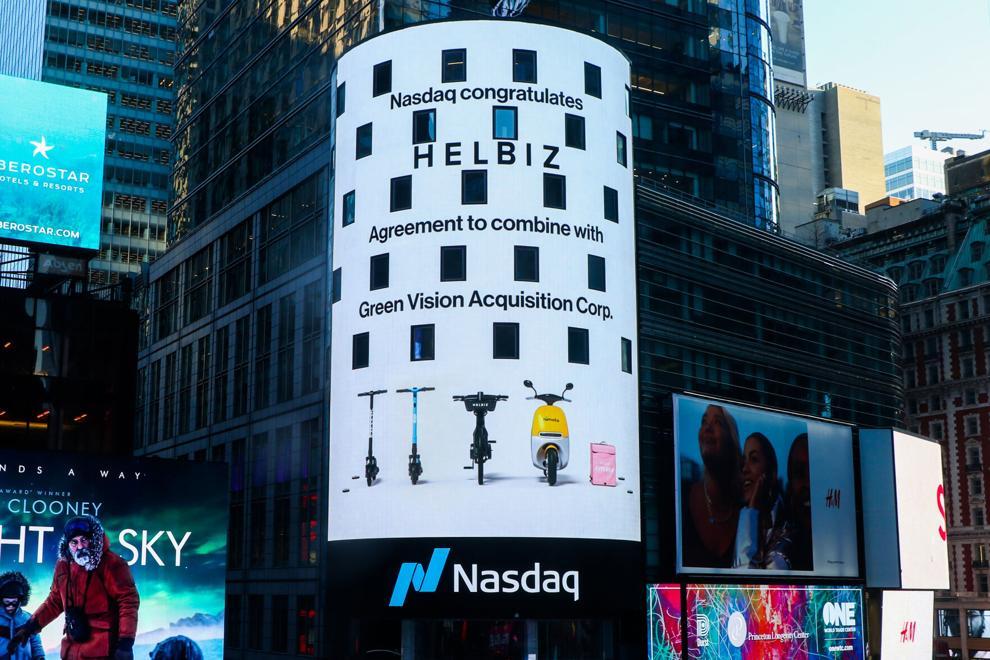 GreenVision Acquisition Corp.宣布与Helbiz, Inc.合并成为第一家在纳斯达克上市的微动公司